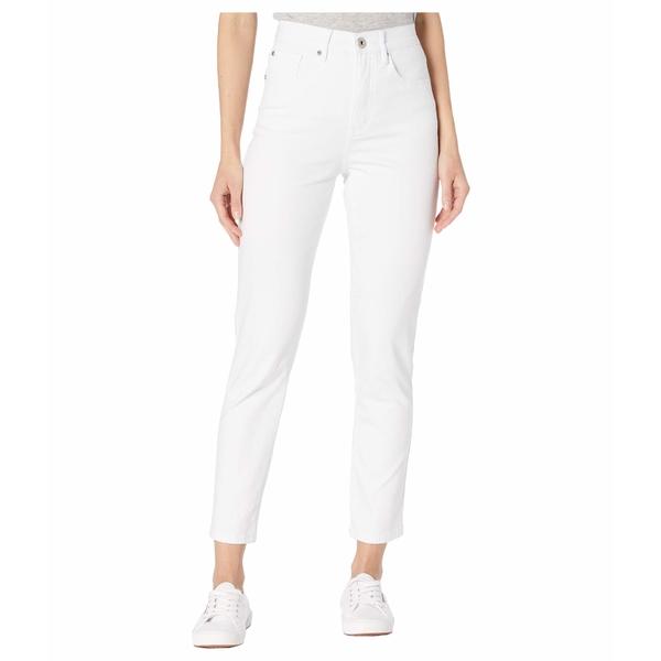 トリバル レディース デニムパンツ ボトムス Five-Pocket High-Rise Slim in White White