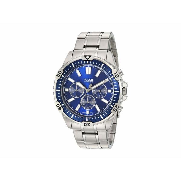 フォッシル メンズ 腕時計 アクセサリー Garrett Chronograph Watch FS5623 Silver Stainless Steel