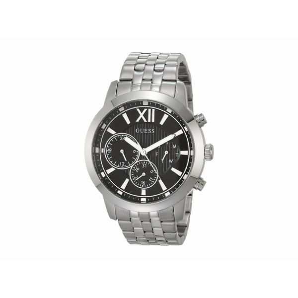ゲス メンズ 腕時計 アクセサリー GW0068G1 Silver-Tone