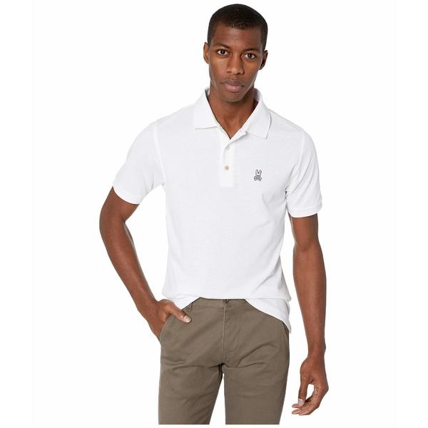 サイコバニー メンズ シャツ トップス Seacroft Sports Polo White