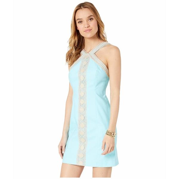 リリーピュリッツァー レディース ワンピース トップス Vena Stretch Shift Dress Bali Blue