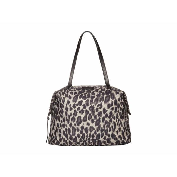 レベッカミンコフ レディース ハンドバッグ バッグ Washed Nylon Tote Leopard