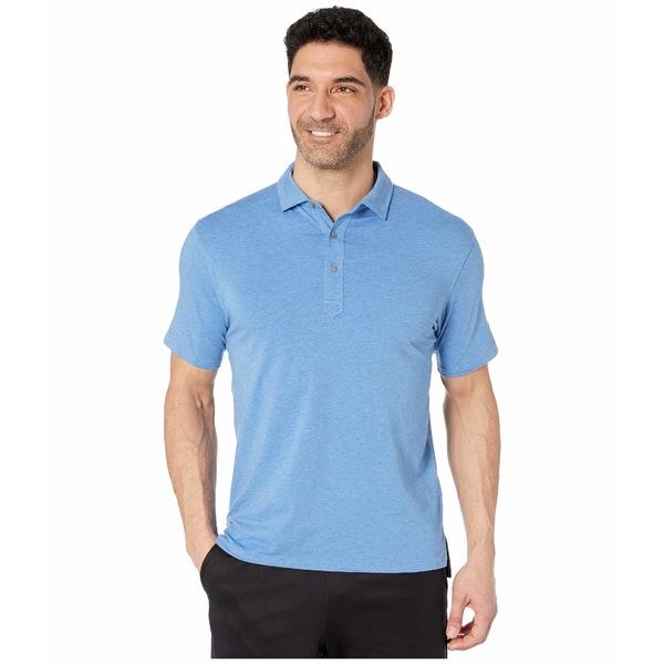 タスクパフォーマンス メンズ シャツ トップス Air Stretch Polo Nautical Blue Heather