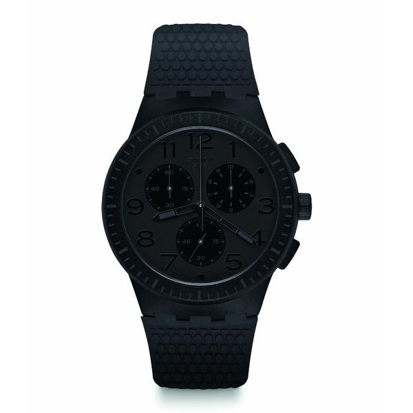 スワッチ メンズ 腕時計 アクセサリー Piege - SUSB104 Black