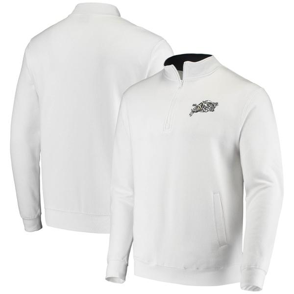 コロシアム メンズ ジャケット&ブルゾン アウター Navy Midshipmen Colosseum Tortugas Logo QuarterZip Jacket Charcoal