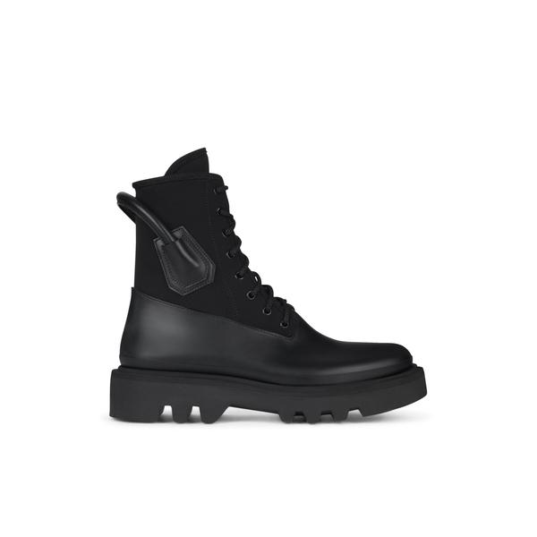 ジバンシー メンズ ブーツ&レインブーツ シューズ Givenchy Lace-Up Combat Boots -