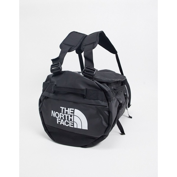 ノースフェイス メンズ ボストンバッグ バッグ The North Face Base Camp small duffel bag in black Tnf black/tnf white