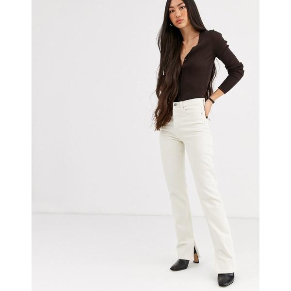 アンドアザーストーリーズ レディース デニムパンツ ボトムス & Other Stories straight leg jeans in off white Off white