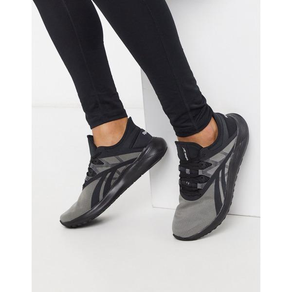 リーボック メンズ スニーカー シューズ Reebok Running floatride sneakers in black Black