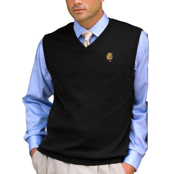 ビンテージアパレル メンズ ジャケット&ブルゾン アウター Ferris State Bulldogs Milano Knit Sweater Vest Black