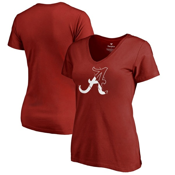 ファナティクス レディース Tシャツ トップス Alabama Crimson Tide Fanatics Branded Women's X Ray Ladies Plus Size T-Shirt Crimson