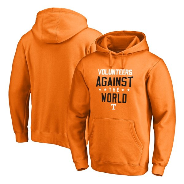 ファナティクス メンズ パーカー・スウェットシャツ アウター Tennessee Volunteers Fanatics Branded Against The World Pullover Hoodie Tennessee Orange