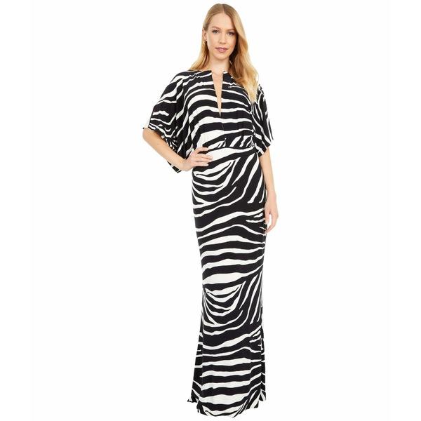 カマリカルチャー レディース ワンピース トップス Obie Gown Large Zebra