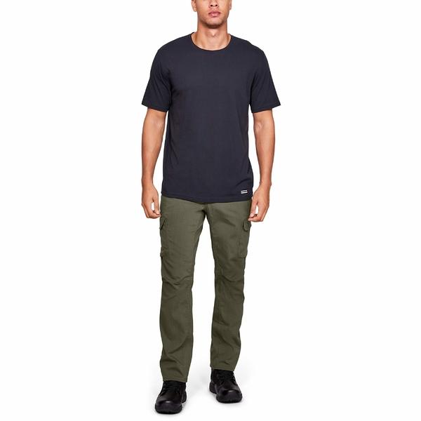 アンダーアーマー メンズ カジュアルパンツ ボトムス Tac Cargo Stretch RS Pants Marine OD Green/Marine OD Green