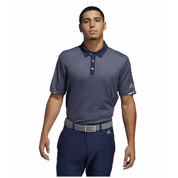 アディダス メンズ シャツ トップス Heat.Rdy Base Polo Shirt Collegiate Navy Melange