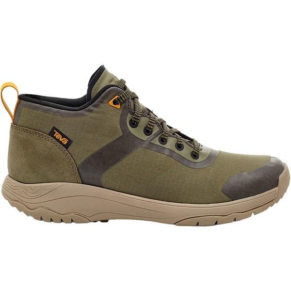 日本正規代理店品 テバ レディース スポーツ ハイキング Burnt Olive 全商品無料サイズ交換 Mid 信憑 - Hiking Gateway Shoe Women's