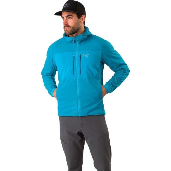 FL アークテリクス アウター - Firoza Men's Jacket Proton Insulated ジャケット&ブルゾン メンズ Hooded