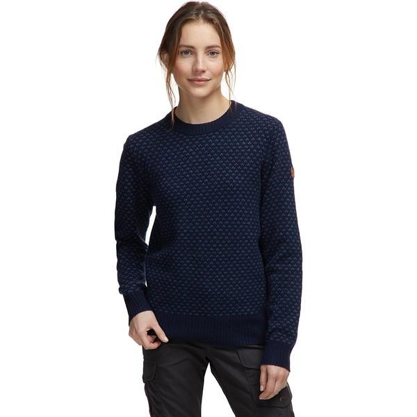 フェールラーベン Nordic Dark Ovik Sweater ニット&セーター レディース Navy Women's アウター -