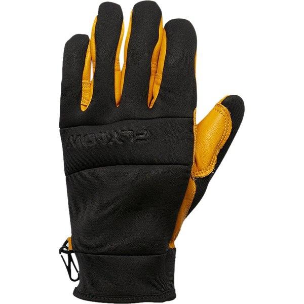 フライロー メンズ アクセサリー 手袋 Natural Glove Black 全商品無料サイズ交換 新入荷 流行 DB ストアー
