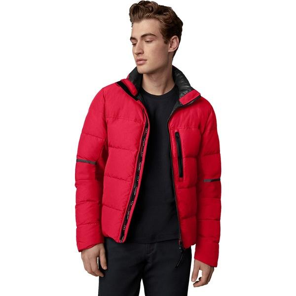 カナダグース メンズ ジャケット&ブルゾン アウター Hybridge Jacket - Men's Red:asty