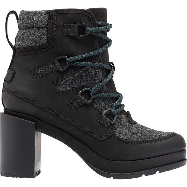希少 黒入荷! ソレル レディース ブーツ&レインブーツ シューズ Blake Lace Boot - Women's Black/Grey, アクアギフト e6246cf1