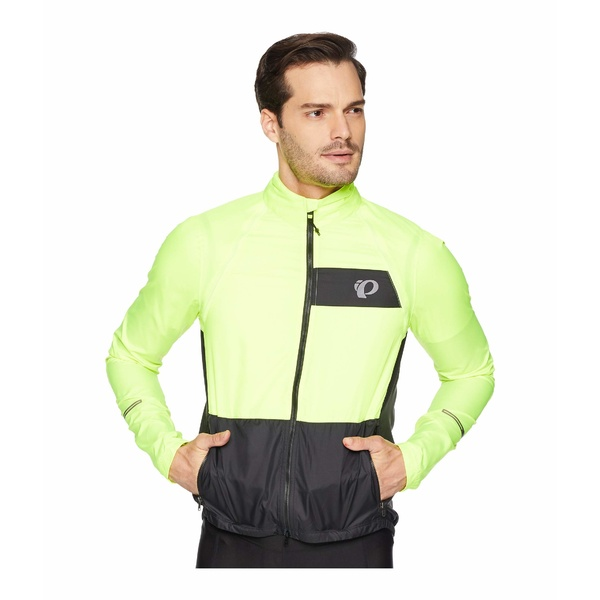 パールイズミ メンズ コート アウター Elite Barrier Convertible Cycling Jacket Screaming Yellow/Black