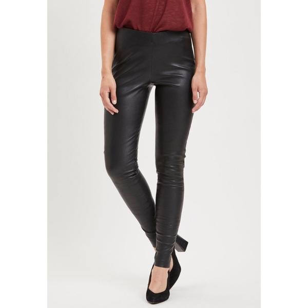 オブジェクト レディース セール特別価格 ボトムス レギンス black - 全商品無料サイズ交換 Trousers Leggings qscn01a4 当店一番人気