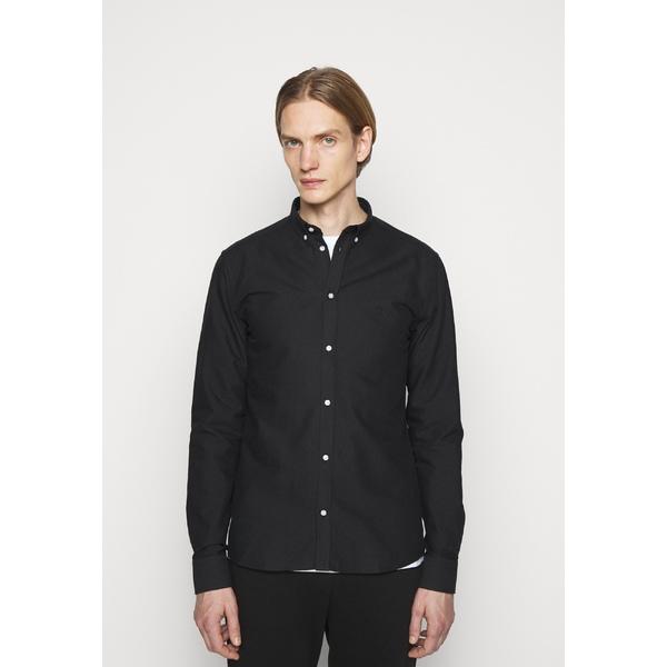 付与 レ ドゥ メンズ トップス シャツ black セール価格 - Shirt 全商品無料サイズ交換 CHRISTOPH qscn01a4
