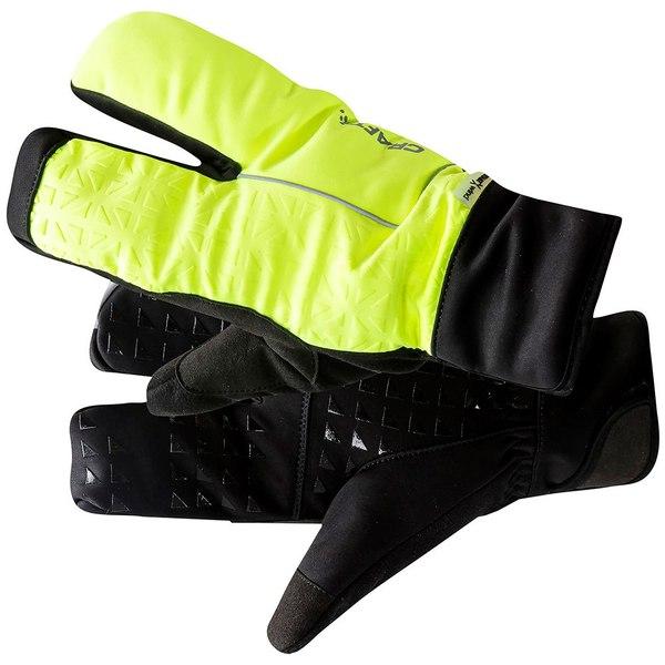 クラフト レディース アクセサリー 手袋 新品 Flumino Black 全商品無料サイズ交換 Craft Finger オンライン限定商品 2.0 Split qswq0135 Siberian