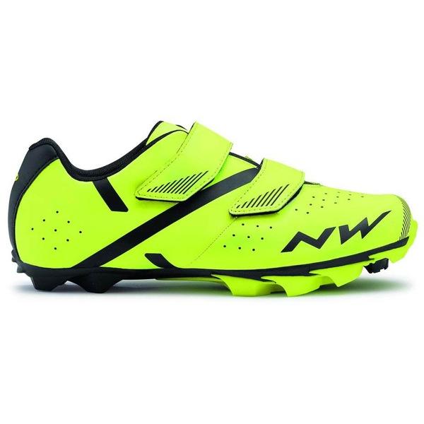 ノースウェーブ メンズ スポーツ サイクリング Fluo Yellow Northwave qswq0135 送料無料 激安 お買い得 キ゛フト 全商品無料サイズ交換 Black 2 Spike 信憑