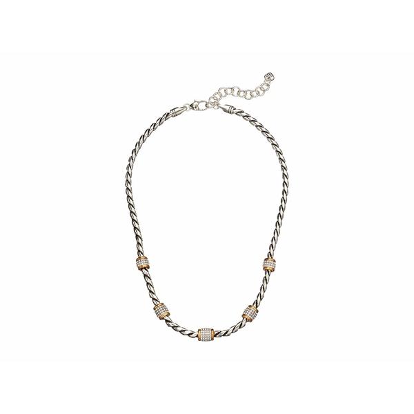 ブライトン レディース ネックレス・チョーカー・ペンダントトップ アクセサリー Meridian Necklace Silver/Gold