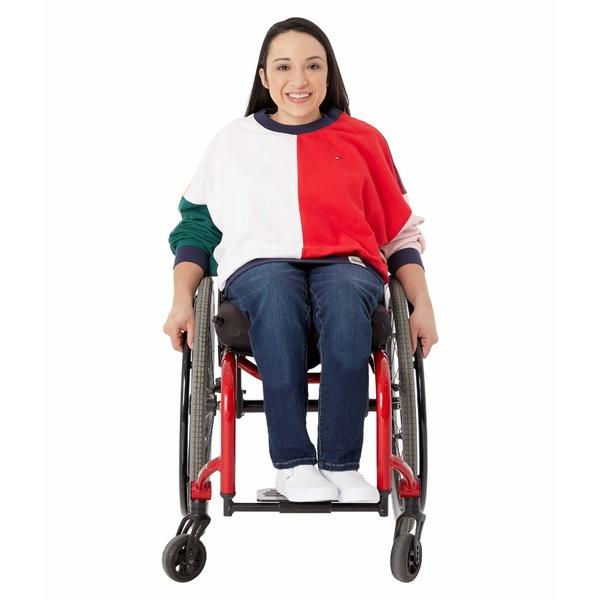 トミーヒルフィガー レディース ニット&セーター アウター Color Block Long Sleeve T-Shirt Bright White/Racing Red/Multi