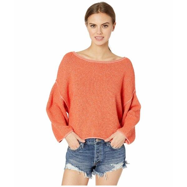 フリーピープル レディース ニット&セーター アウター Bardot Sweater Coral