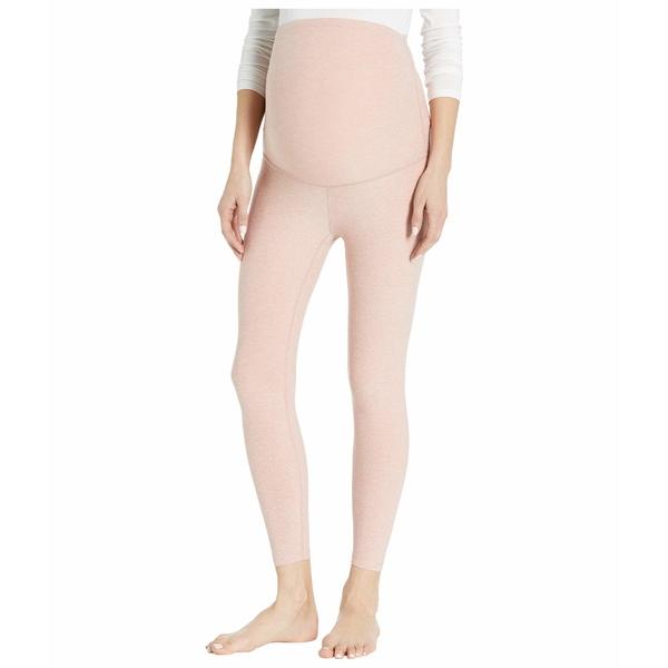 ビヨンドヨガ レディース カジュアルパンツ ボトムス Maternity Empire Waisted Capri Leggings Tinted Rose/Pink Quartz