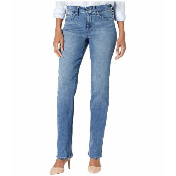 エヌワイディージェイ レディース デニムパンツ ボトムス Marilyn Straight Jeans in Brickell Brickell