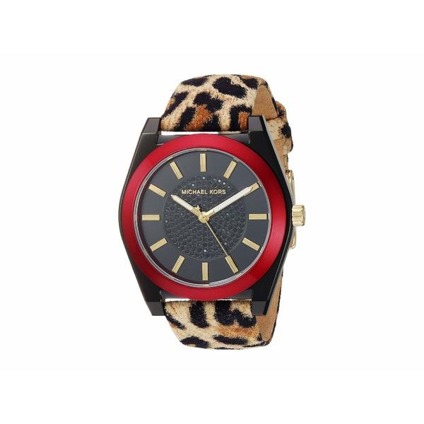 マイケルコース レディース 腕時計 アクセサリー MK2855 - Channing Leopard Brown/Black