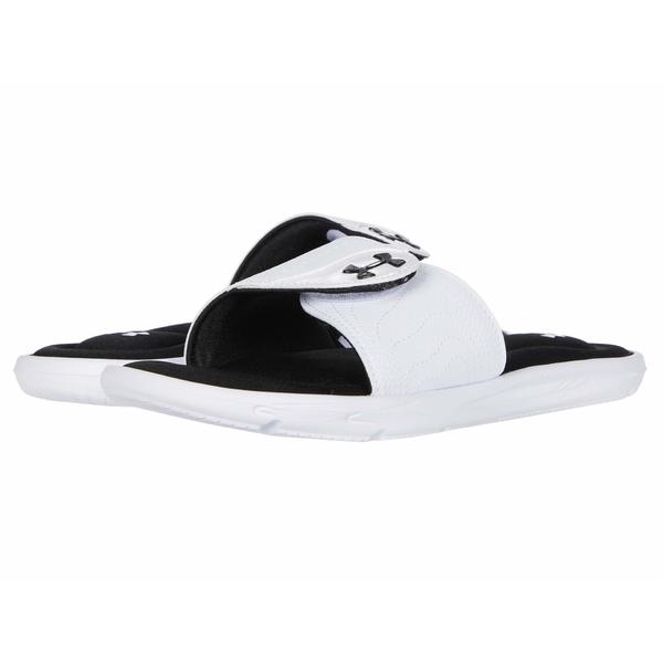 アンダーアーマー レディース サンダル シューズ UA Ignite IX SL White/Black/White
