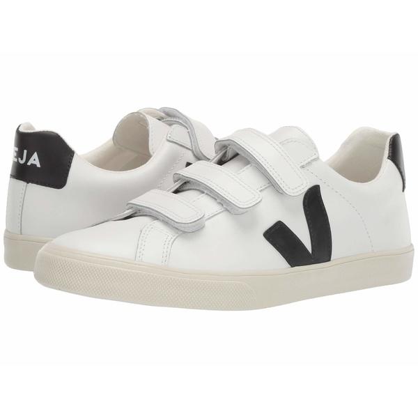 ヴェジャ レディース スニーカー シューズ 3-Lock Logo Extra White/Black Leather