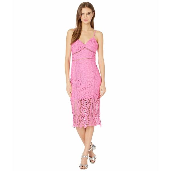 バードット レディース ワンピース トップス Roxy Lace Dress Pink Pop