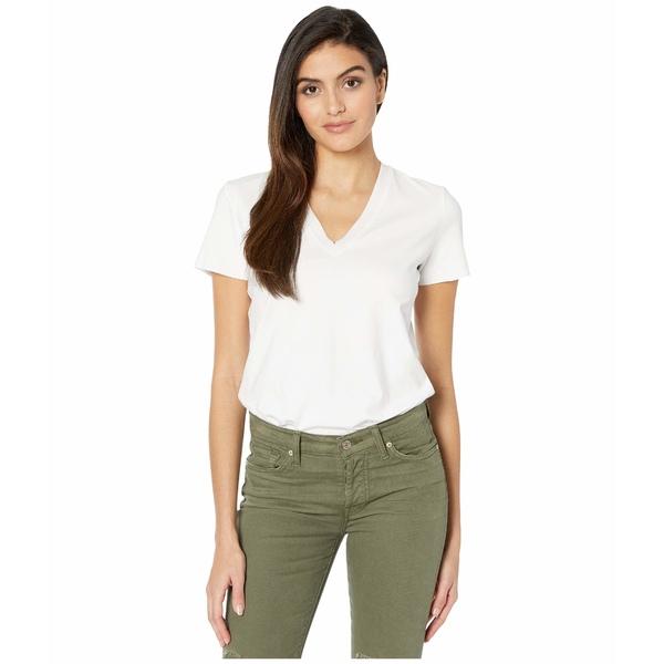 コマンドー レディース シャツ トップス Essential Cotton Bodysuit Tee BDS124 White