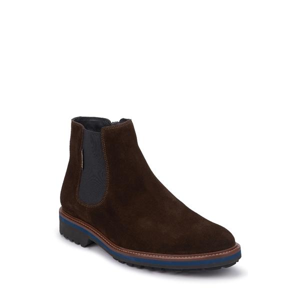メフィスト メンズ ブーツ&レインブーツ シューズ Benson Zip Boot Dark Brown Nubuck