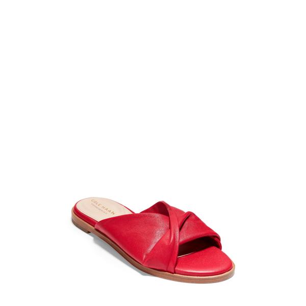 コールハーン レディース サンダル シューズ Alyx Slide Sandal Tango Red Leather