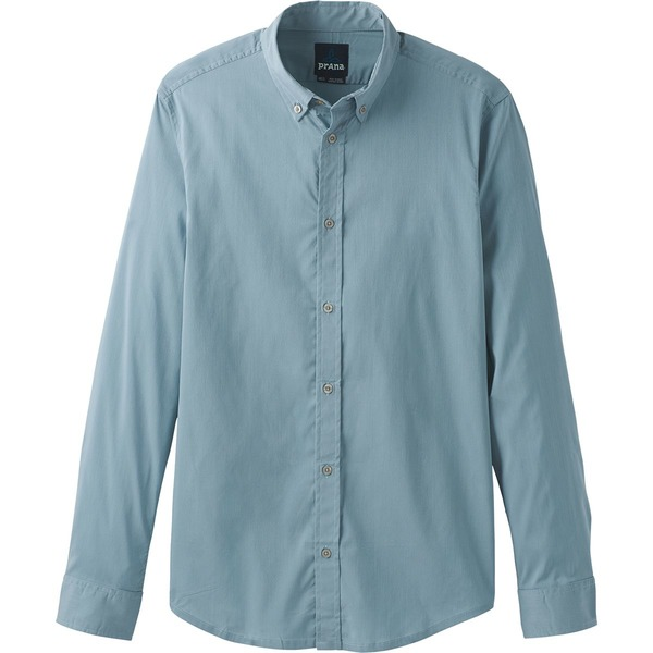 プラーナ メンズ シャツ トップス Granger Tailored Long-Sleeve Shirt - Men's Rain