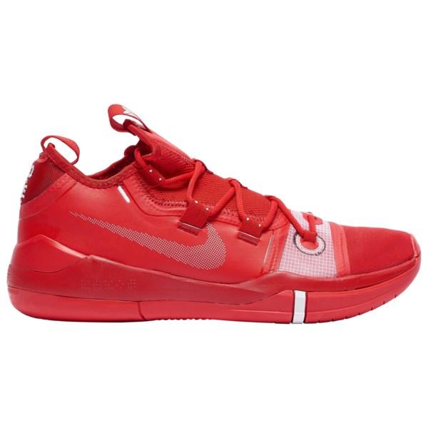 ナイキ メンズ バスケットボール スポーツ Kobe AD Kobe Bryant   University Red/Metallic Silver/White