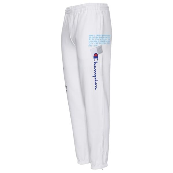 チャンピオン メンズ カジュアルパンツ ボトムス Super Fleece Behind The Label 2.0 Pants White