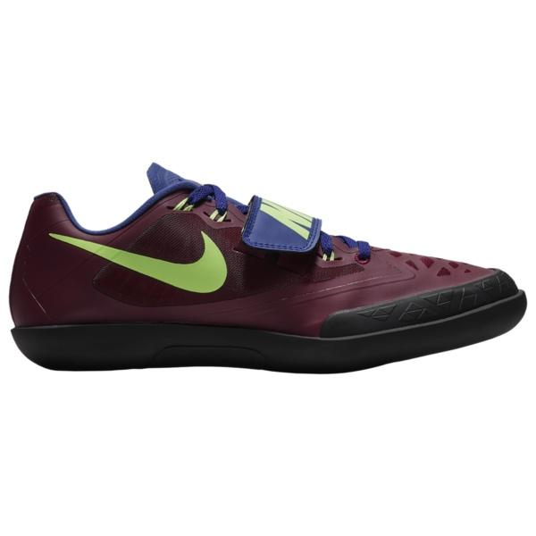 ナイキ メンズ 陸上 スポーツ Zoom SD 4 Bordeaux/Lime Blast/Regency Purple