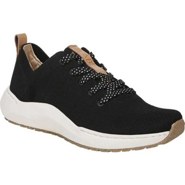 ドクターショール レディース スニーカー シューズ Herzog Sneaker Black/Black Recycled Knit