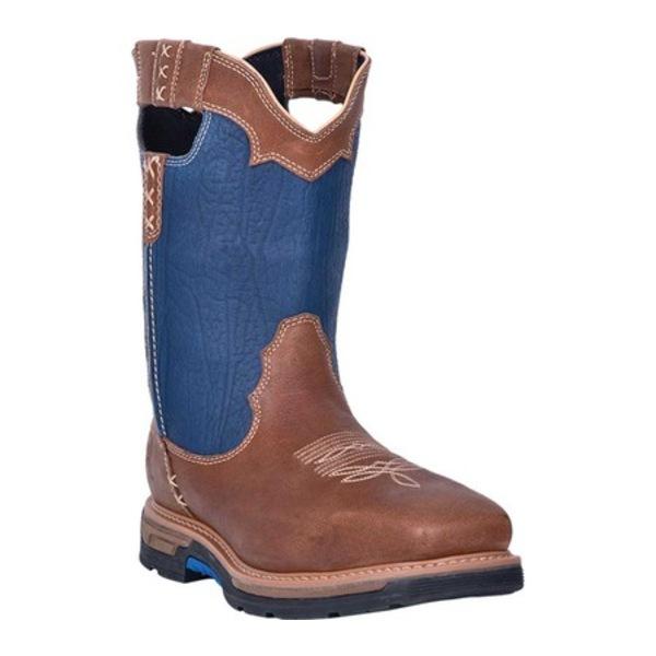 ダンポスト メンズ ブーツ&レインブーツ シューズ Scoop Composite Toe Waterproof Boot DP59428 Denim Waterproof Full Grain Leather