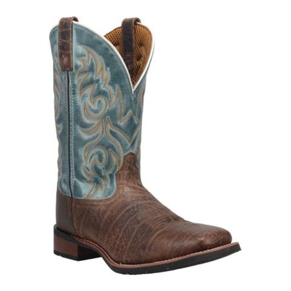 ラレド メンズ ブーツ&レインブーツ シューズ Bisbee Cowboy Work Boot 7838 Brown/Blue Leather