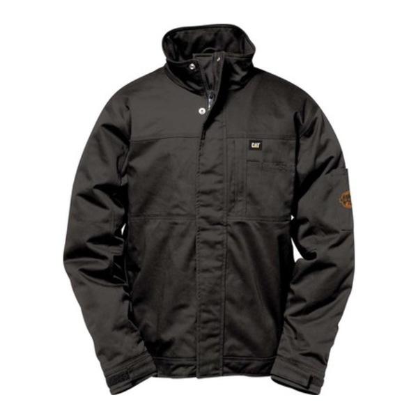 キャタピラー メンズ ジャケット&ブルゾン アウター Flame Resistant Heavy Weight Insulated Jacket Fr Black